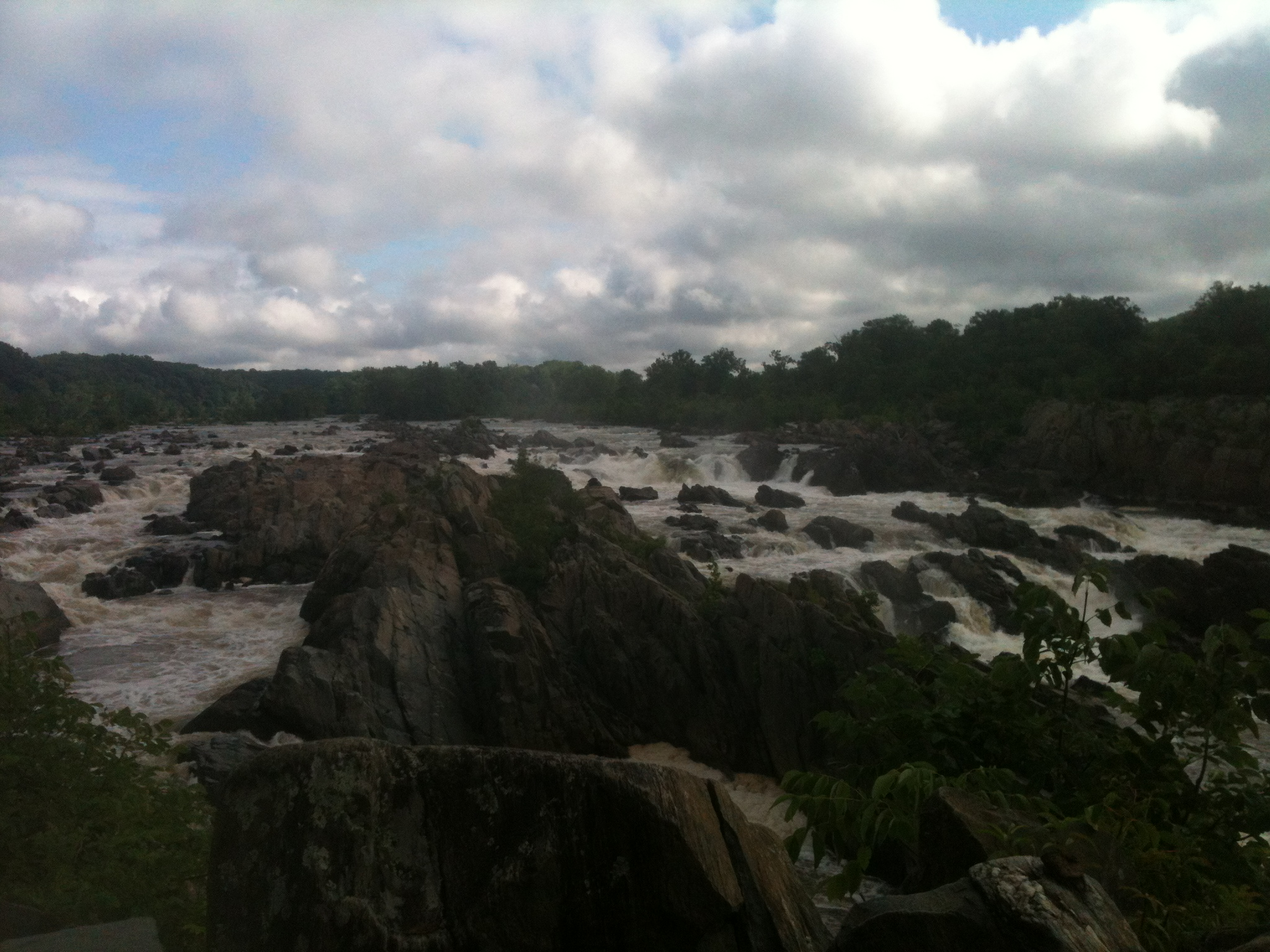 Great Falls Park in VA