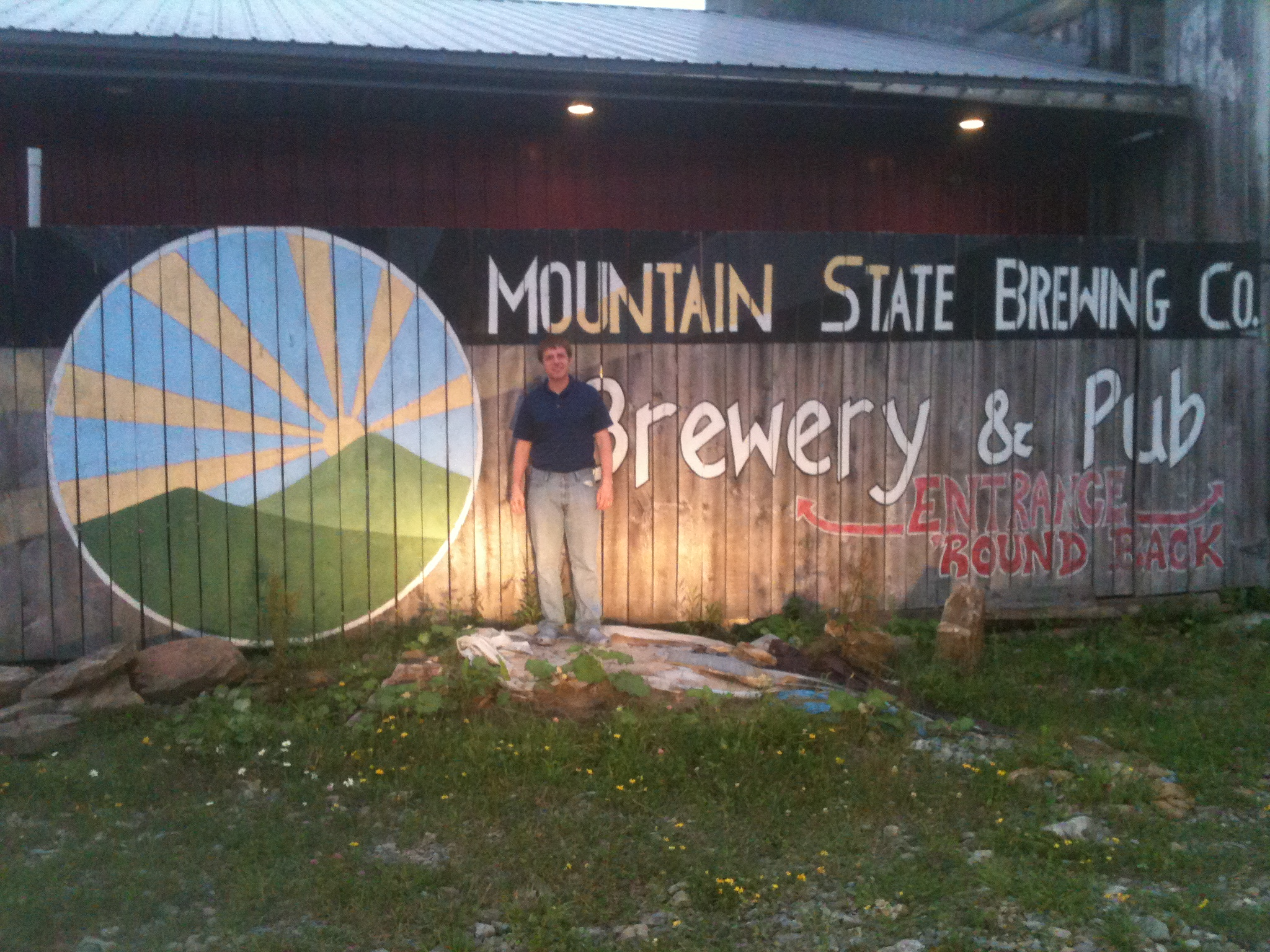 Mountain State Brewery in Thomas WV