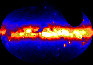 Full sky images of dust in the Milky Way from the Pioneer 10/11 IPP data. From http://www.stsci.edu/~kgordon/pioneer_ipp/Pioneer_10_11_IPP.html.